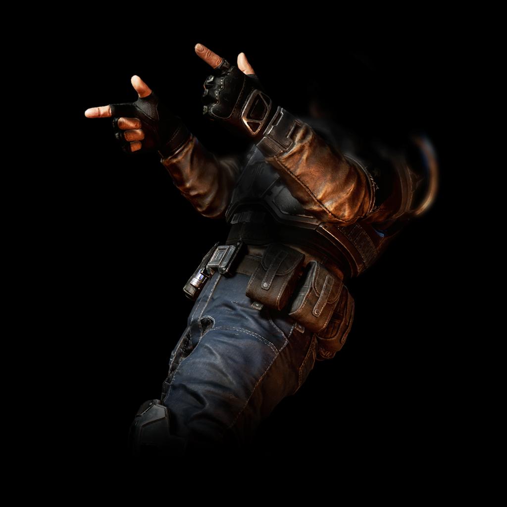 Pistol Fingers Expression reward