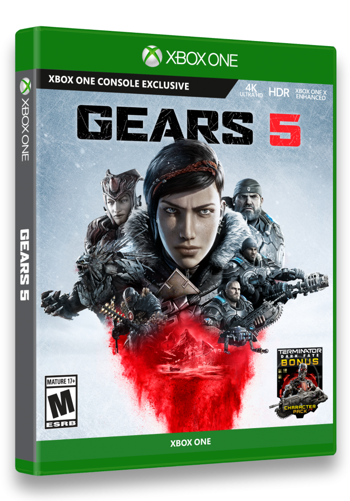 Gears 5 Standard Edition Xbox One box cover