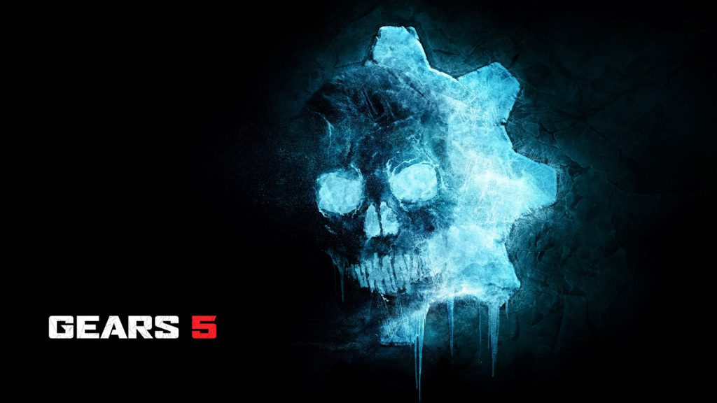 The blue Gears 5 ice omen