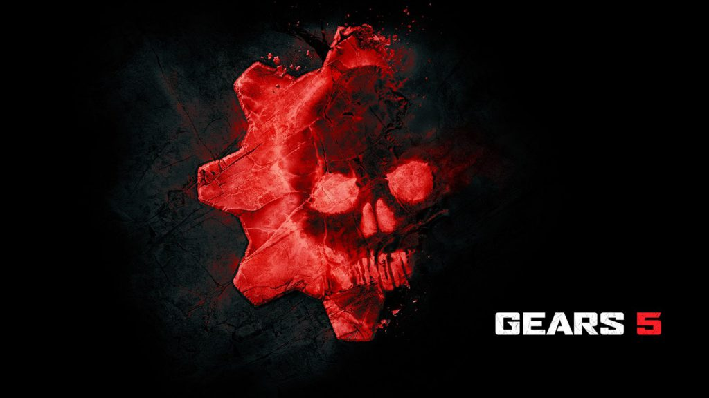 The red Gears 5 rock omen