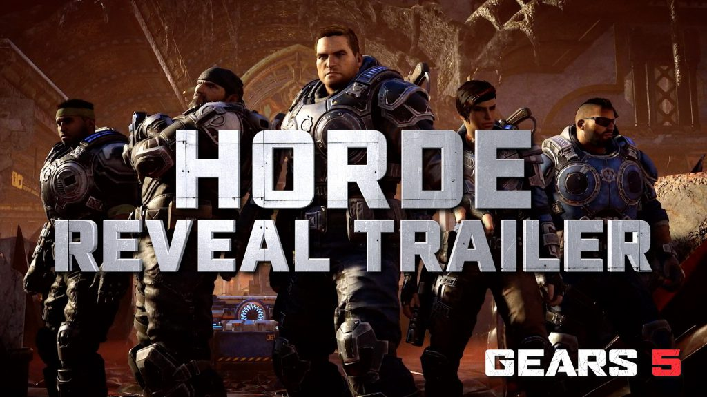 Gears 5 Horde Trailer. Youtube