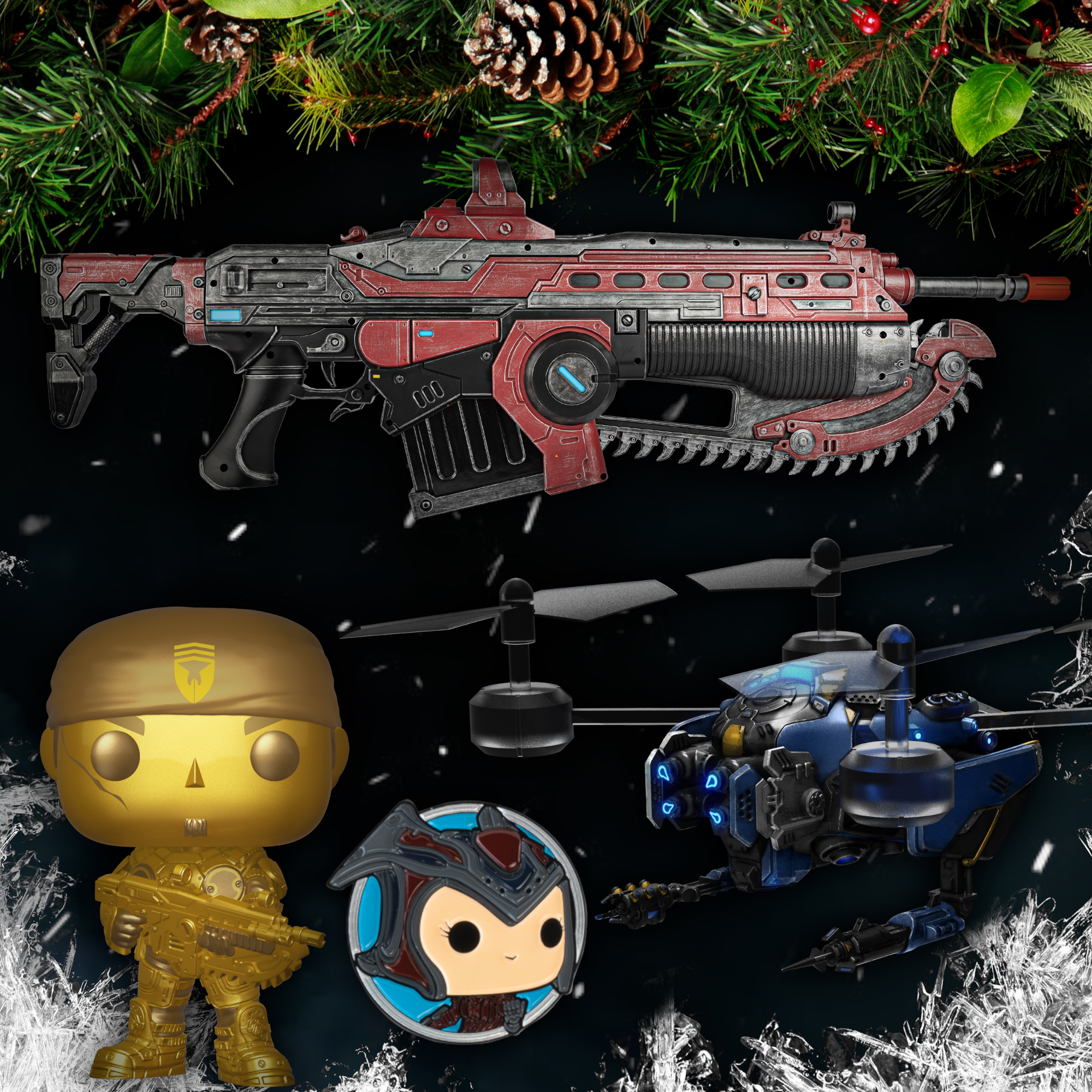 Gears 5 toys and collectibles articles for sale