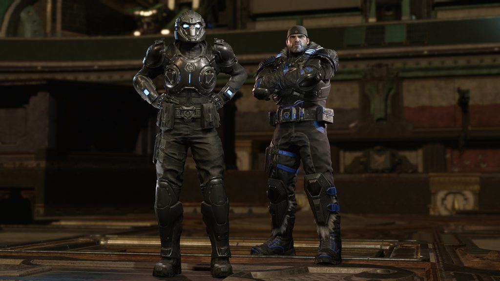 Screengrab showing Onyx Gear and Collector Winter Marcus from Gears 5