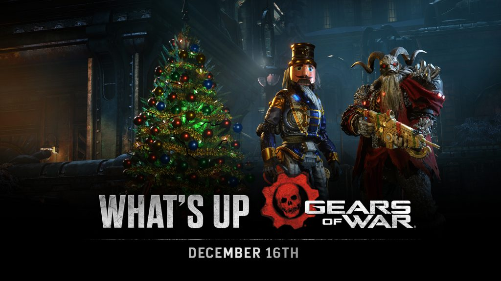 Krampus Scion and Nutcracker DB stand ready for Gearsmas