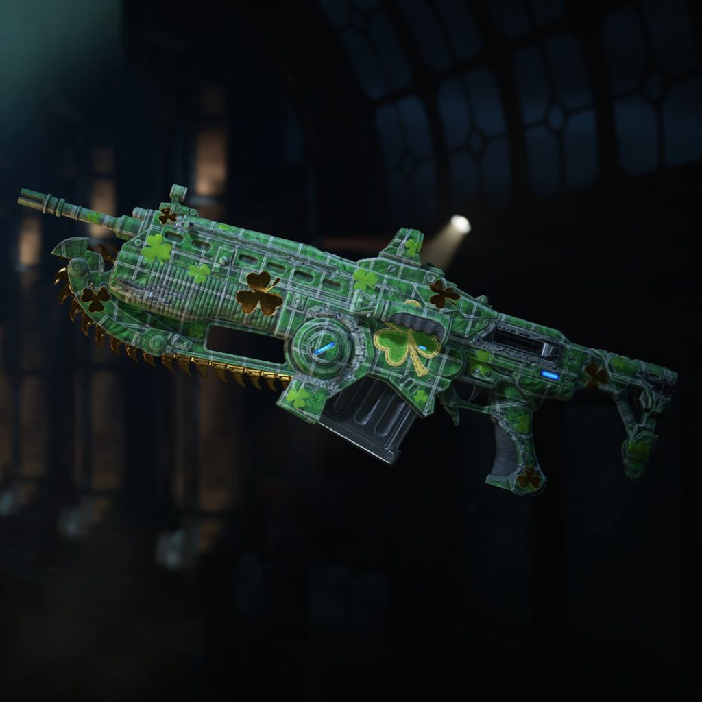 Shamrock Weapon Skin