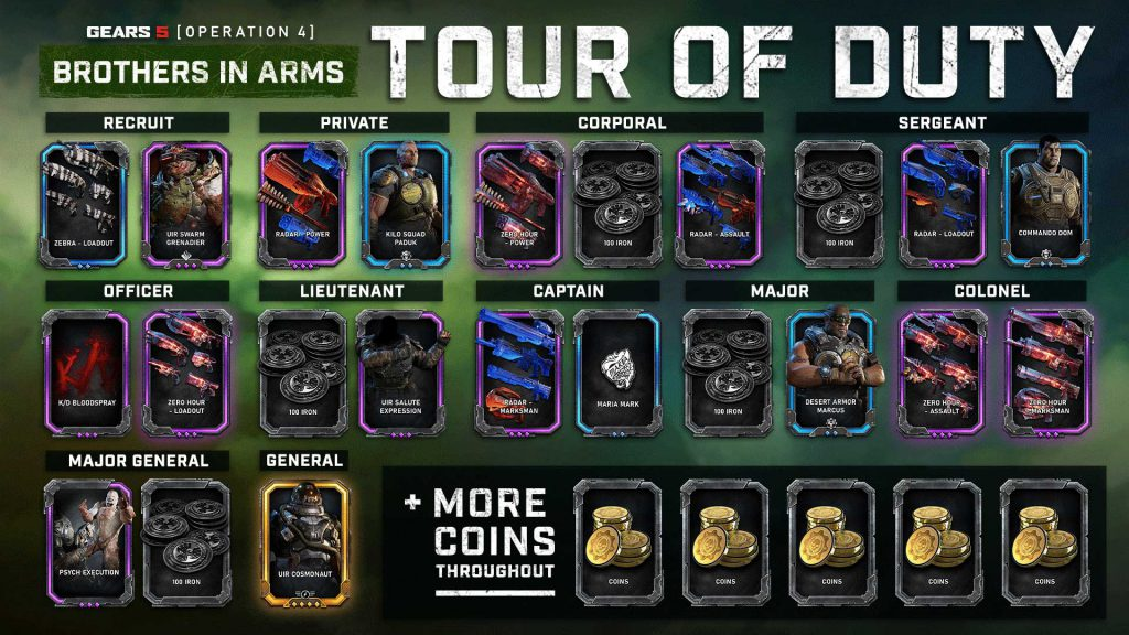 A sample of the Tour of Duty content from Operation 4.