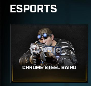 The eSports-focused item available now in Gears 5