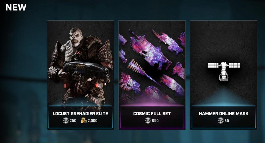 New items available now in Gears 5 Multiplayer