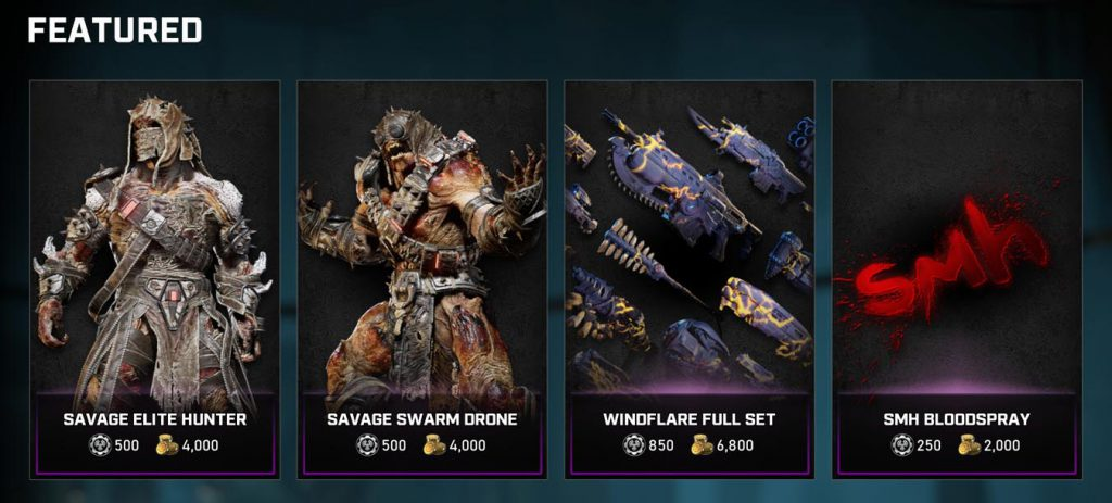 Featured items in the store for week of August 11