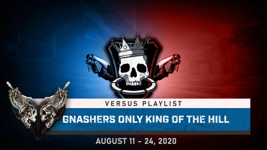 Gnasher Only KOTH for Aug 11 - 24, 2020