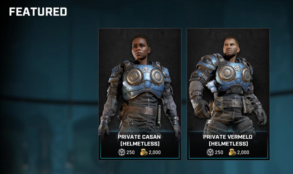 The featured items for the Gear Store for August 25, 2020