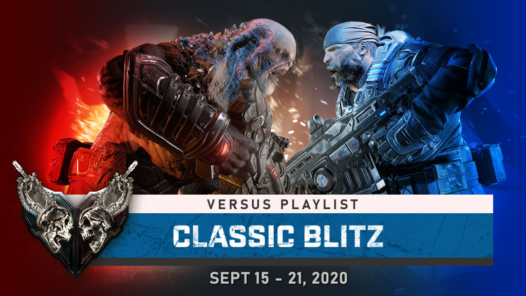 Classic Blitz in the available versus playlist, until Sept 21, 2020