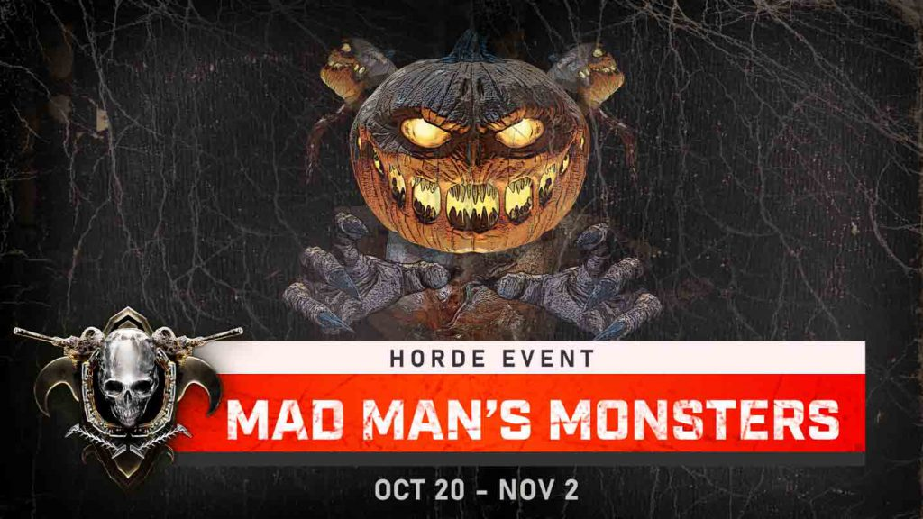 The horde logo for the Mad Man's Monsters Event