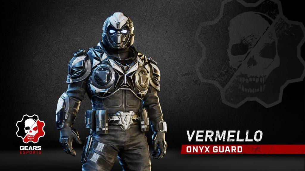 The Chrome Steel Onyx Guard Vermello