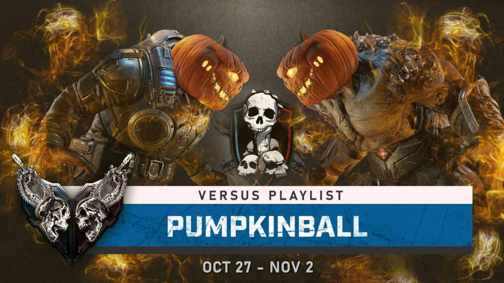The Pumpkinball Versus Playlist Event for the week of Oct 27 through Nov 2