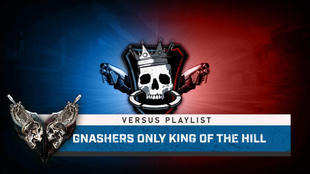 The featured image for This Week in Gears featuring the King of the Hill match type logo