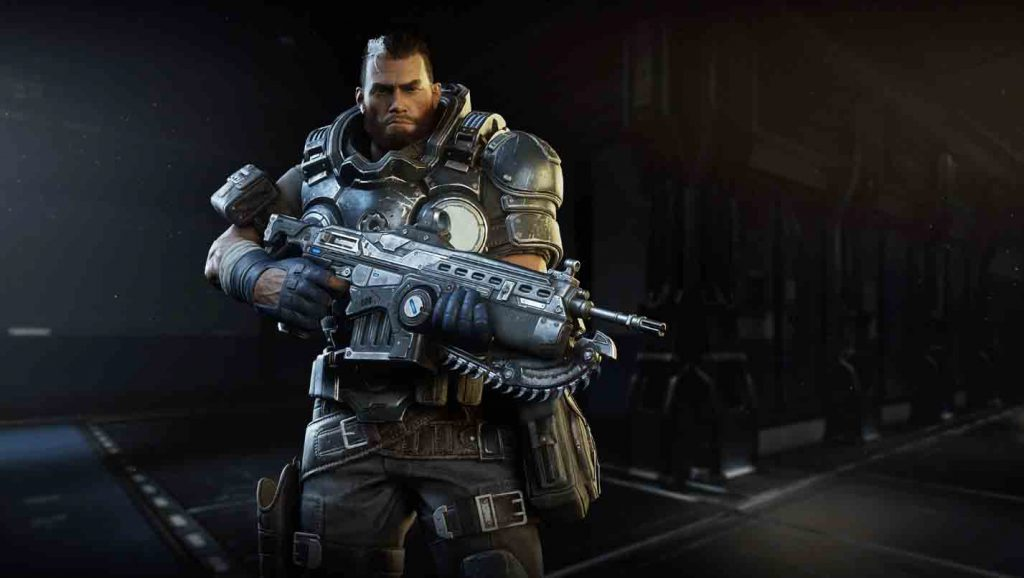Gabe Diaz from Gears Tactics, who makes an appearance in Operation 5
