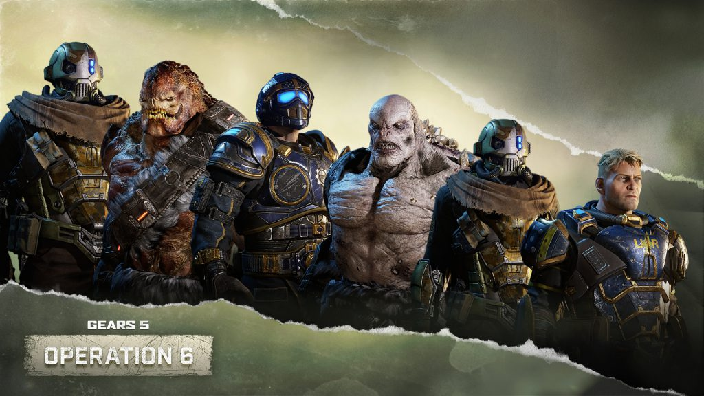 Showing off some of the additional Operation 6 Skins coming to the game, including UIR Sandswept Male and Female, Winter Dwarm Drone, Collector's Benjamin, Winter Scion, and Collector's Major Paduk