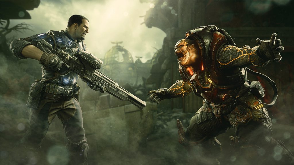 The Operation 6 Drop 2 key art featuring Chairman Prescott and Disciple Drone