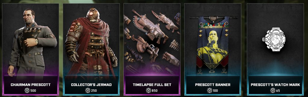 The news items in the Gears store for the days between April 27 and May 3