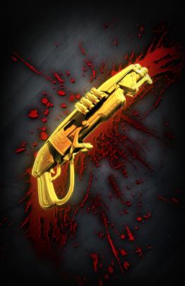 Golden Gnasher Bloodspray
