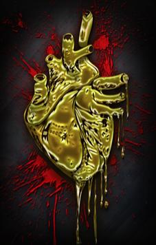 Golden Heart Bloodspray
