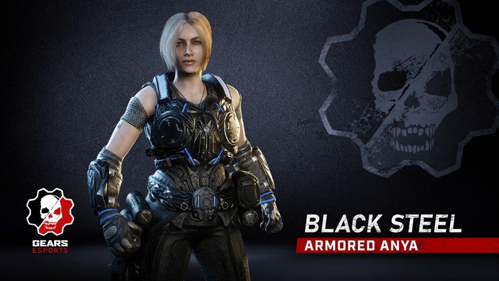 Black Steel Armored Anya