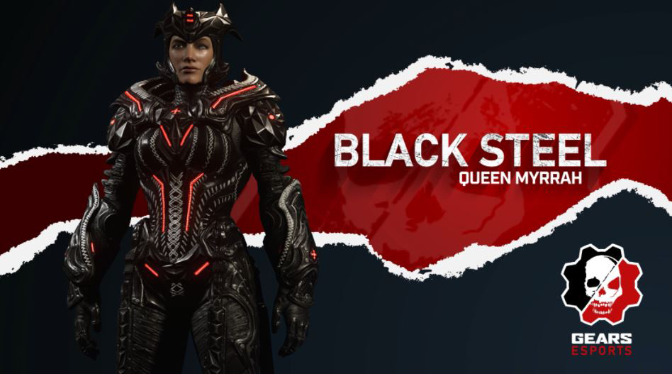 Black Steel Queen Myrrah