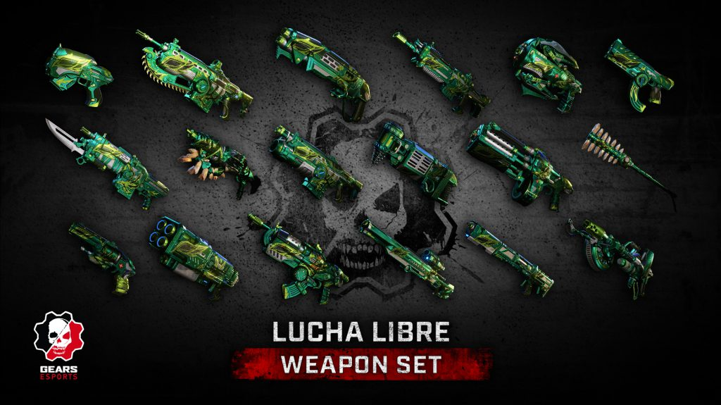 The Lucha Libre Weapon Set