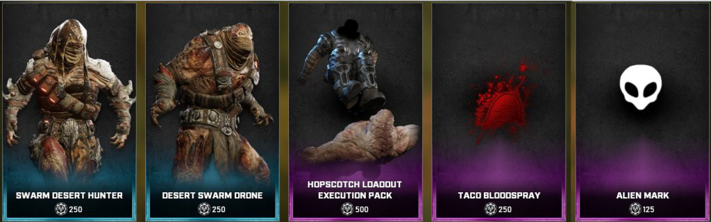 The new items for the Gear Store for August 10, 2021