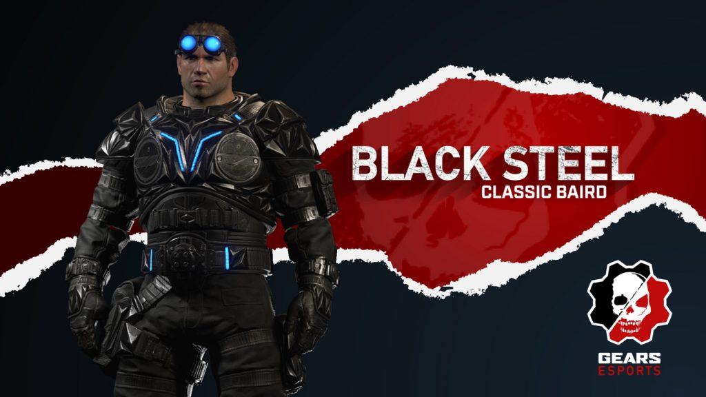 Black Steel Classic Baird