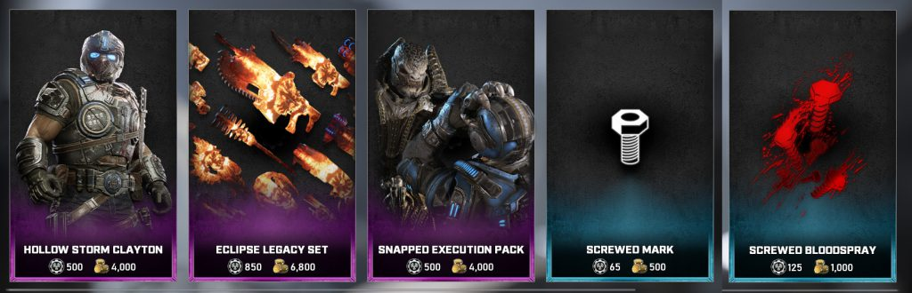 The featured items for the Gear Store for August 16, 2021