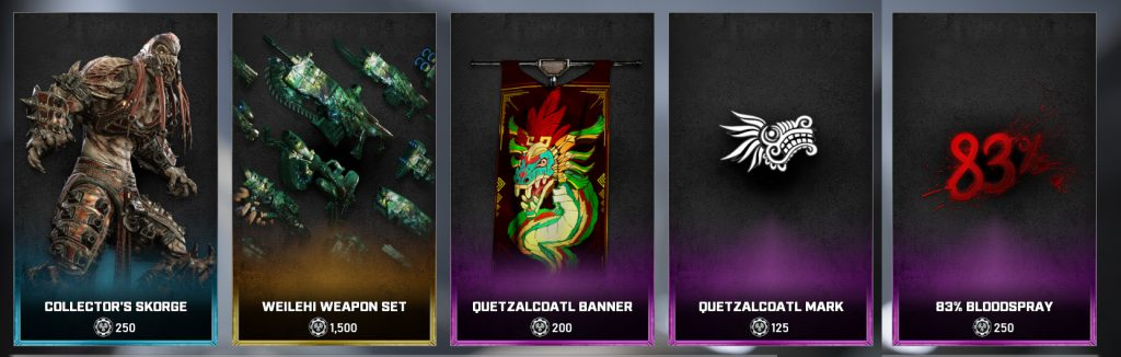 The new items for the Gear Store for August 16, 2021