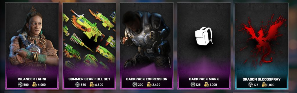 The featured items for the Gear Store for August 24, 2021