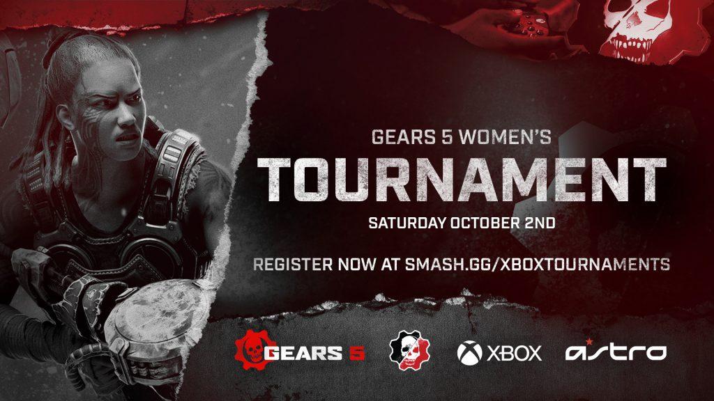 Gears 5 Women's Tournament on Sat, Oct 2, 2021