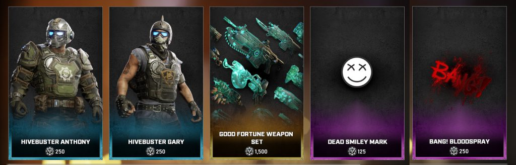 The new store items beginning Sept 28, 2021
